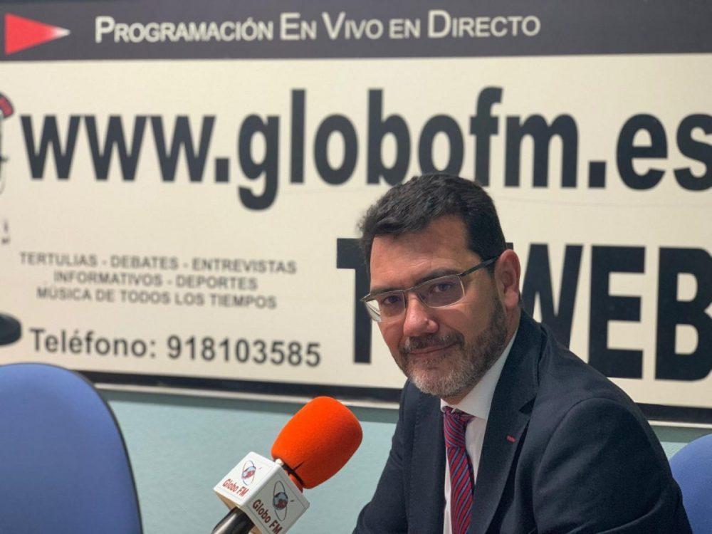 Carlos González Pereira, portavoz de PP de Getafe